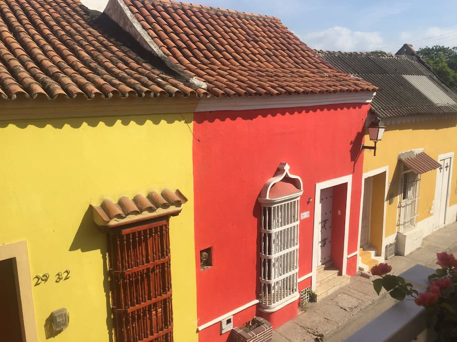 The colourful streets of Getsemani