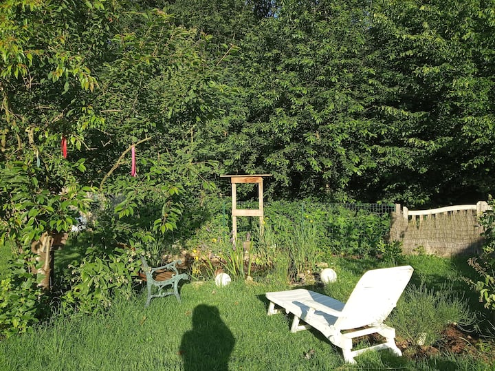 The Garden of Plenty. Double room in a family home