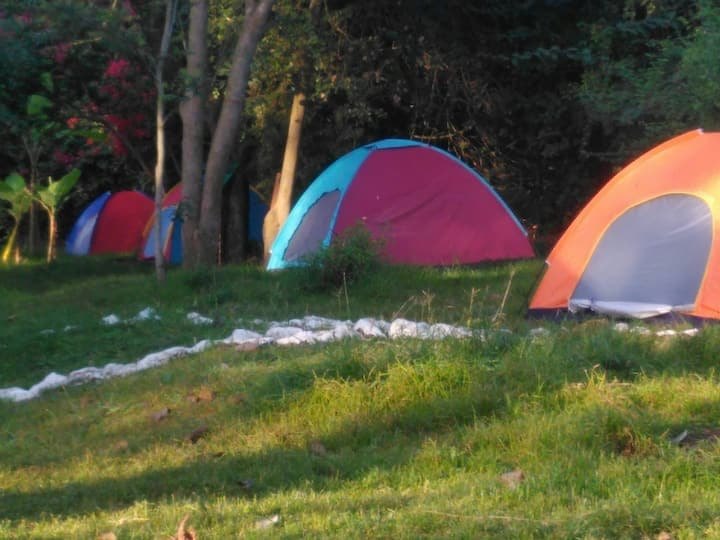 Camp Geofrey's: Camping at Themi Hill