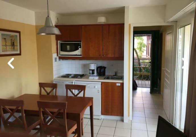 Appartement 4/5 personnes entre lac et océan