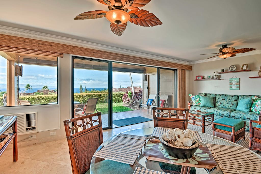 The airy condo is the perfect home-base for all of your Maui adventures!