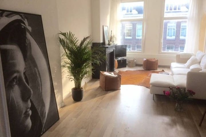 Bright trendy spacious appartment Amsterdam - Amsterdam - Appartement