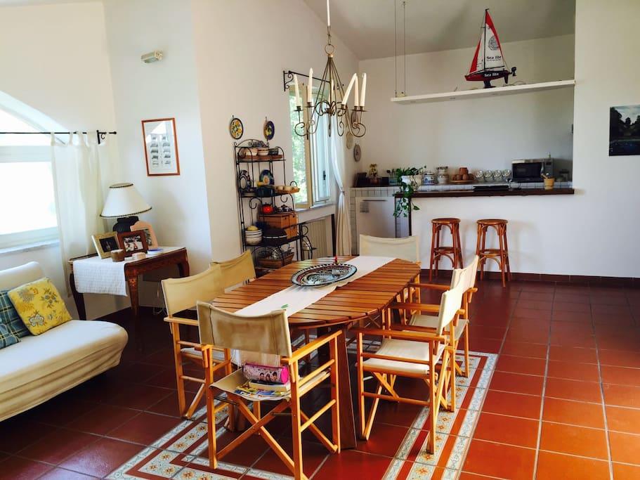 sala da pranzo, angolo cottura
