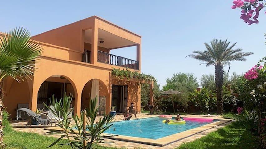 Magnifique Villa aux portes de Marrakech
