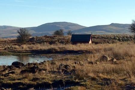 Snowdonia lakeside cabin - Trawsfynydd - Srub