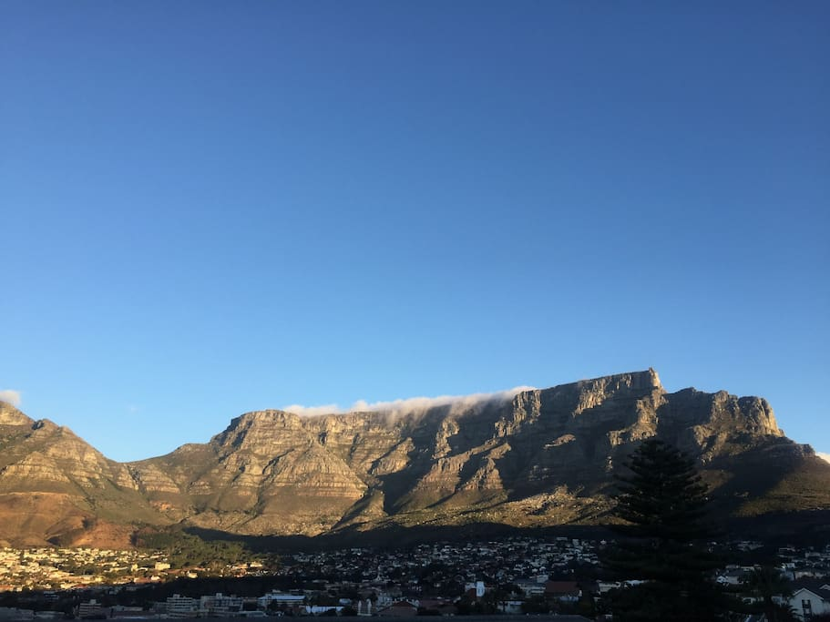 Table Mountain at his best