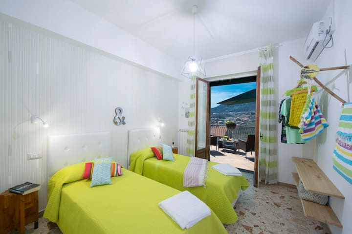 Appartamento Verde Prato sulla Costiera Amalfitana