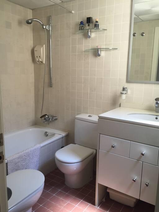 Baño privado con bañera.