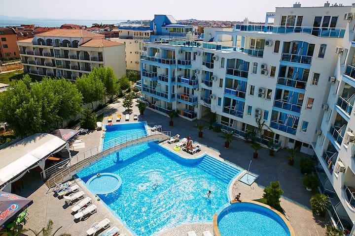 Бюджетный отдых у Чёрного моря в Болгарии.