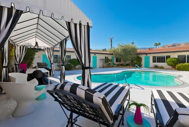 Luxury Private Resort - 1 Block to El Paseo!
