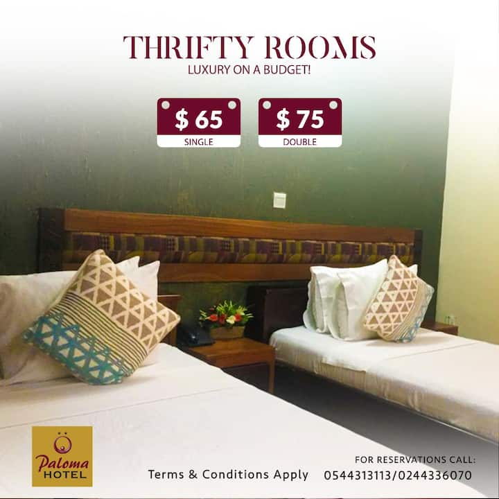PALOMA HOTEL THRIFTY ROOMS