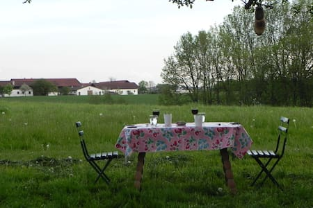 Übernachtung / Urlaub auf dem Bauernhof - Isen - 独立屋