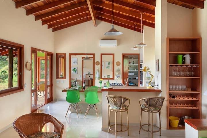 Casa Quero Quero - casa espaçosa nas montanhas de SFX