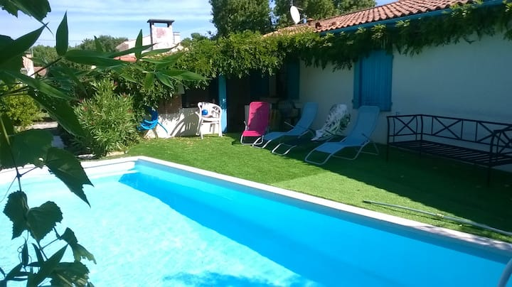 House with 3 bedrooms in La Tremblade, with private pool, enclosed garden and WiFi - 2 km from the beach