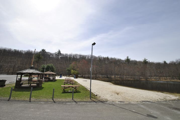 Beach & Lakefront Home w/Community Pool, Sleeps 16 - East Stroudsburg - Hus
