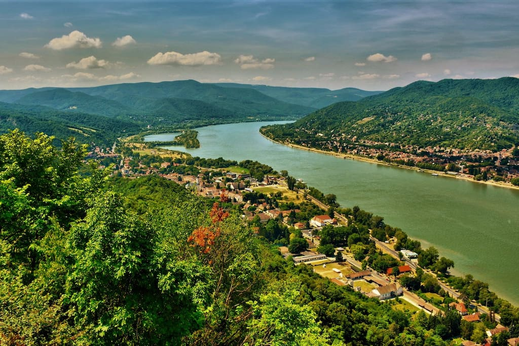 The Danube Bend from the Castle.