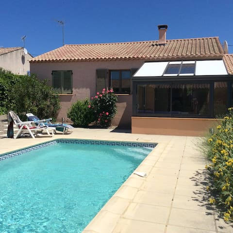 private 3 bedroomed house with pool
