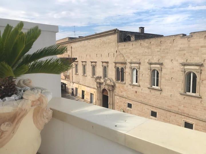 Balcone del Barone - Room with Balcony & Wifi