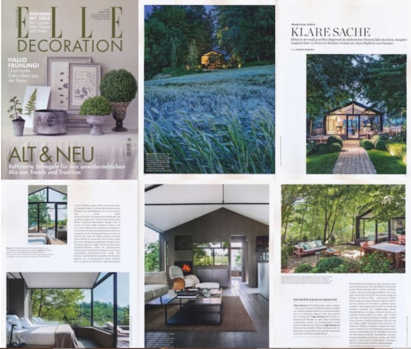 "Glass House on ""Elle Decoration"""