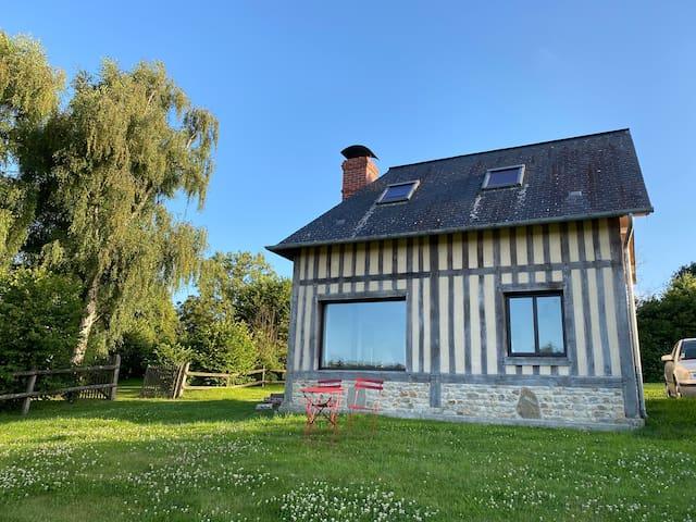 Maisonnette au calme, 15 kms Honfleur/Deauville
