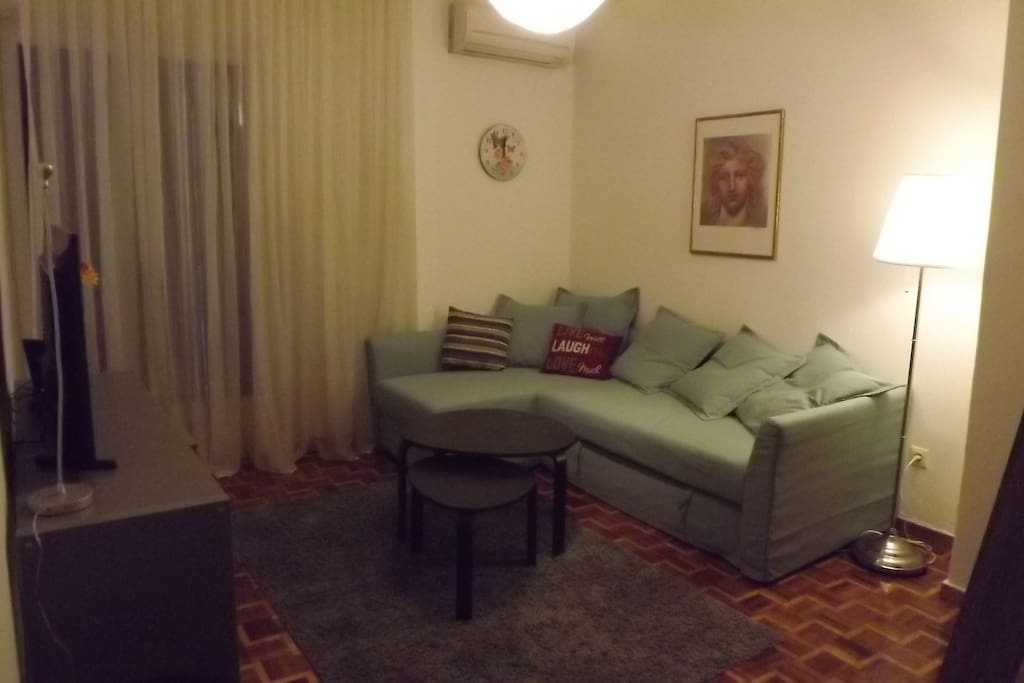 Living room-Sofa (Extra Double Bed)