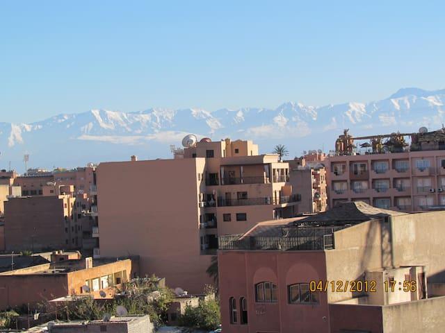 Appartement au centre de Gueliz à Marrakech - Marrakech - Apartment
