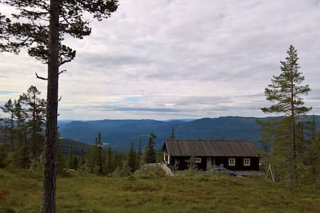 New moutain cabin with spectecular view Norefjell