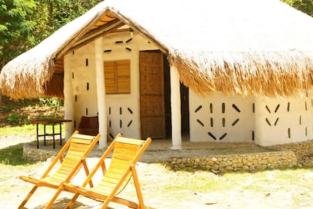 The Mud Huts by Punta Bulata - Butanding Hut - Cauayan - Arazi Evi