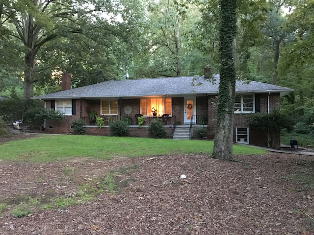 Charming Brick Home in the Saluda River Woods