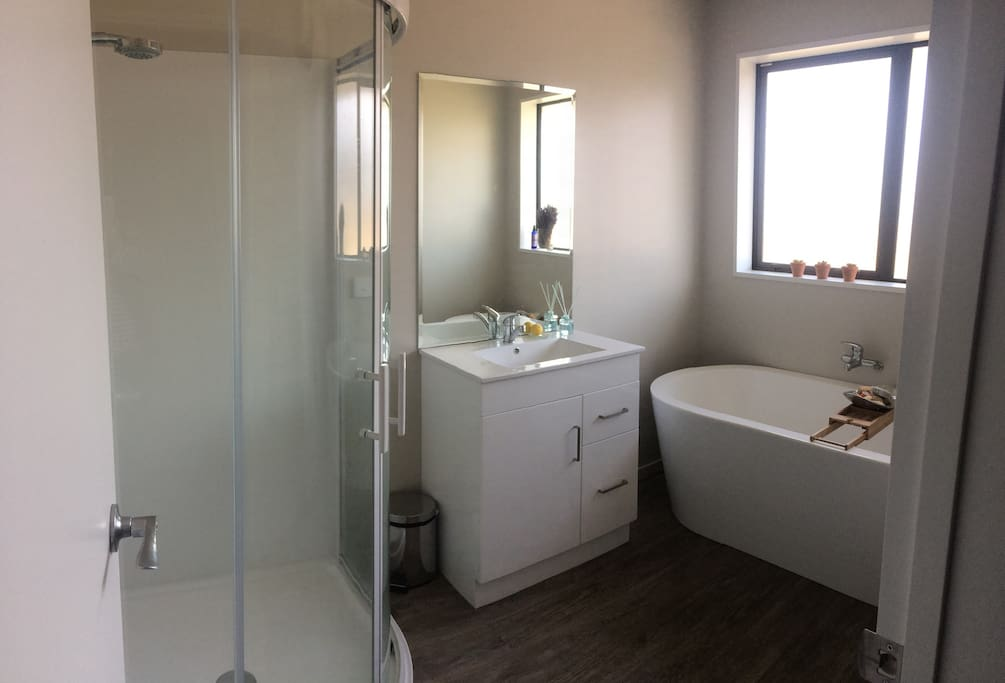 Guest exclusive Bathroom with Separate Toilet