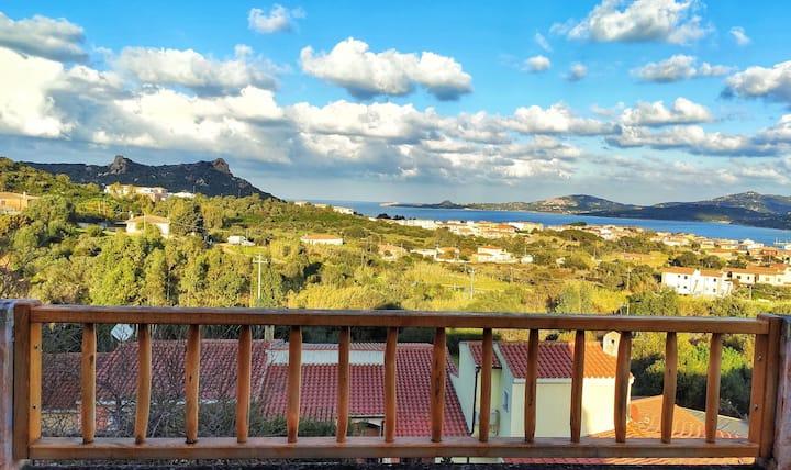 Villa con maestosa vista mare Cannigione