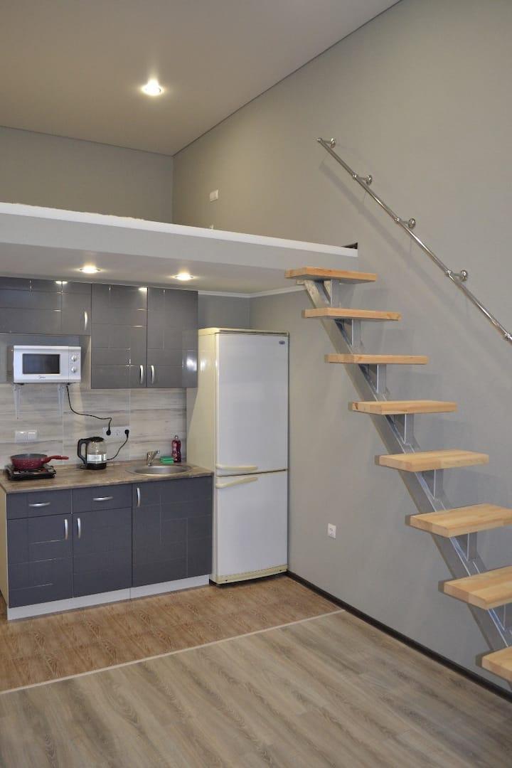 Apartment on Pavlyukhina 110g blue