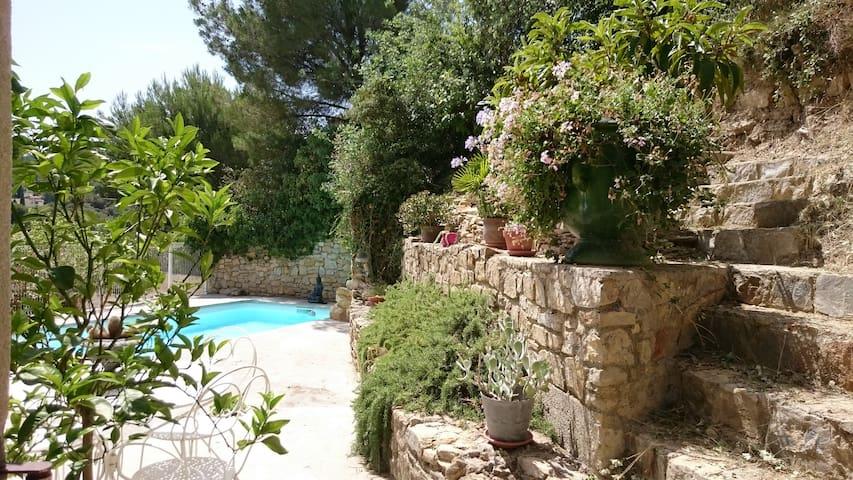 grande villa avec piscine au coeur de la provence - Comps - Villa
