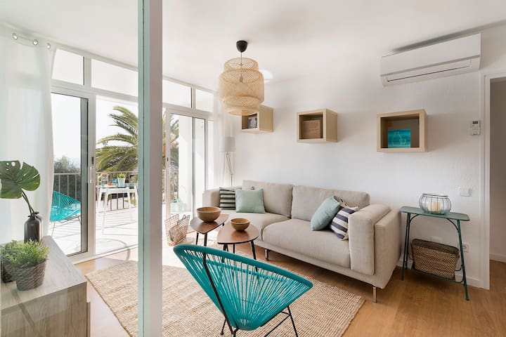 Gava Breeze - 3BR apartment in front of the beach - Gavà - Dom