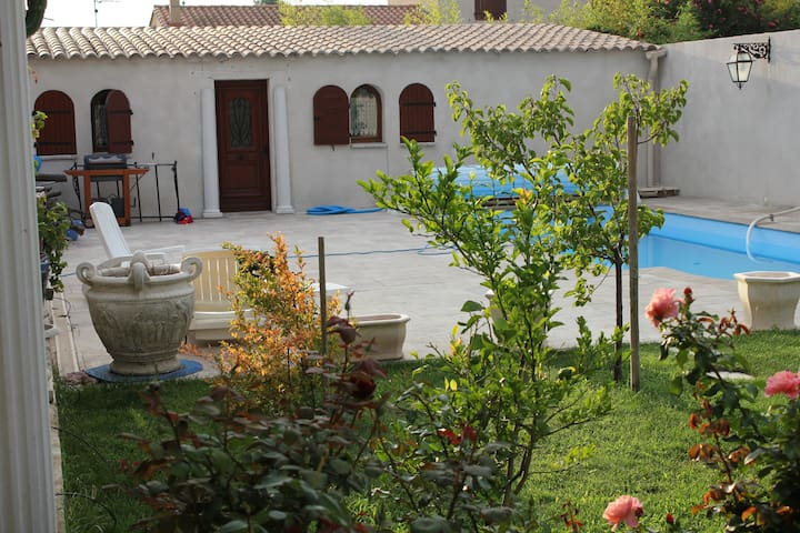 appart autonome à 5mn centre Perpignan 15mn plages - Canohès - Apartamento