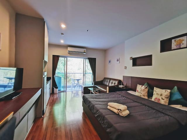 6th Floor Comfort Apartment Mountain View+Wifi