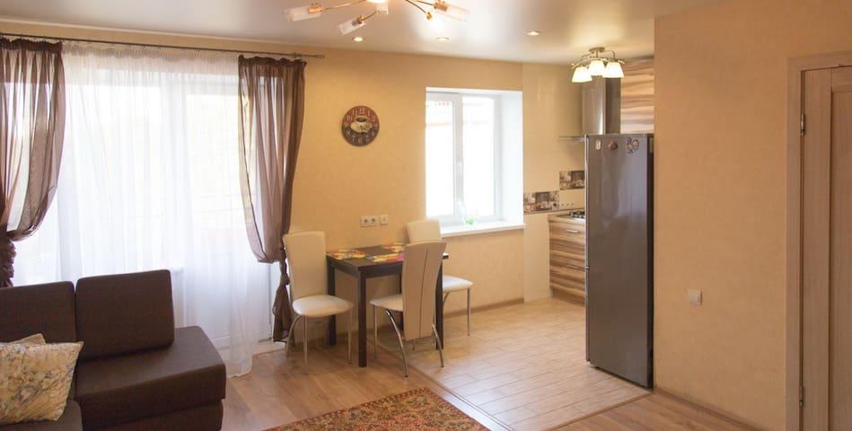 Уютная квартира с домашней обстановкой