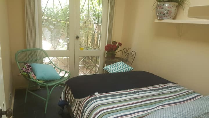 Newly released garden flat in Manly.