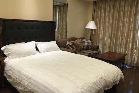 美式精装酒店式公寓,地铁钱江世纪城站200米,G20峰会主会场旁,萧山机场15分钟车程 - Hangzhou