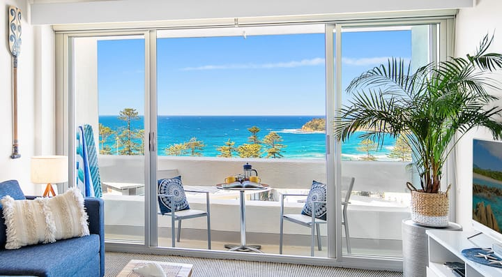 Relaxed Beach-side Living , Central & Parking!