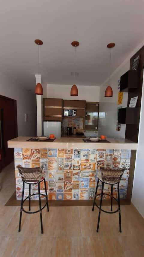 Apartamento mobiliado no centro de Paulo Afonso.