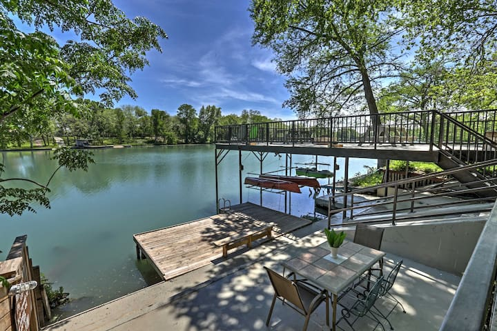 'Guadalupe River Lodge' – 7BR Waterfront Home - Seguin - Hus