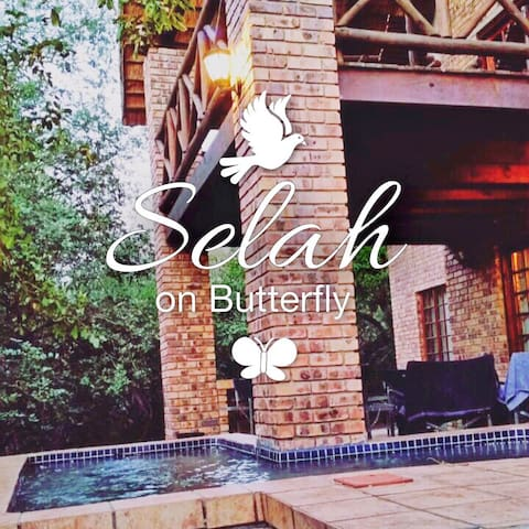 Selah on Butterfly- Pause..reflect...and find rest - Marloth Park - House