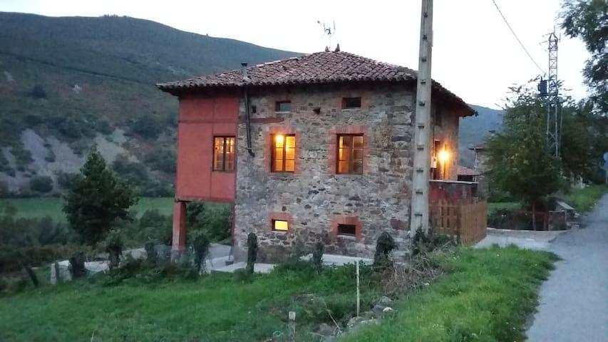Casa rural en la auténtica Asturias.