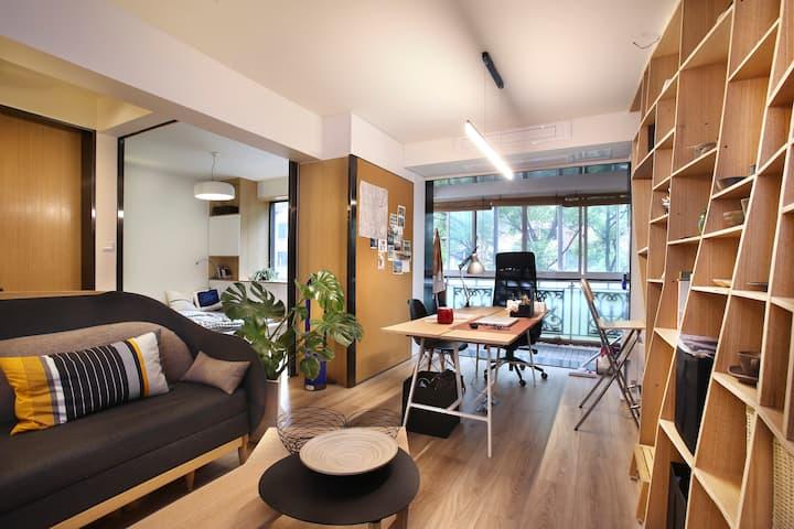 上海市中心的设计师之家