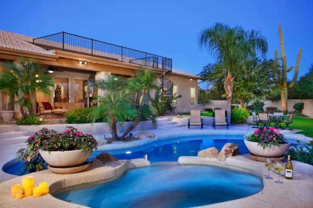 Scottsdale Desert Oasis Houses For Rent In Scottsdale Arizona United States