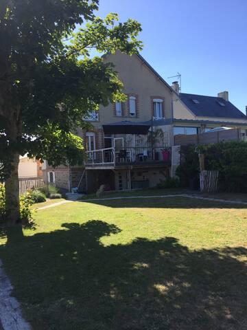 Maison de famille  bord de Mer
