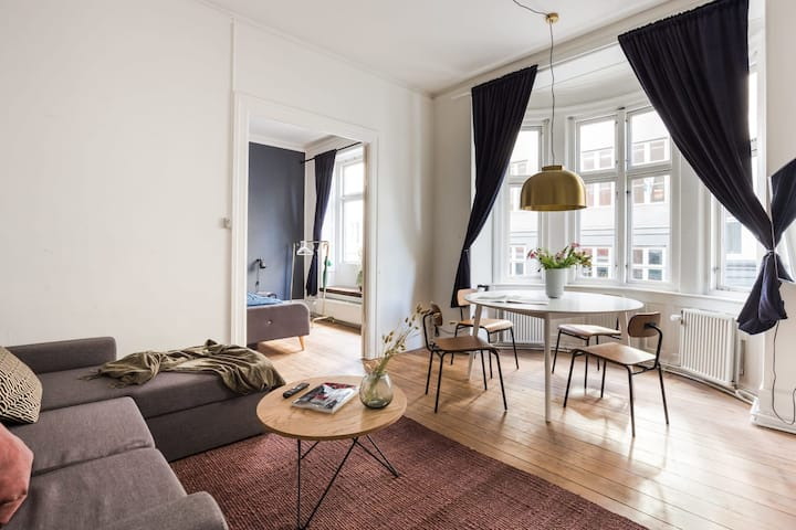 ★102M apt. Heart of copenhagen, 100M to the metro★