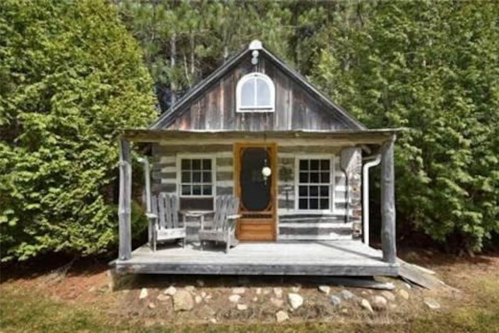 1900's Northern Ontario Barn rebuilt into your private retreat.