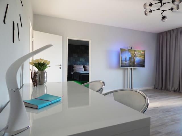 Wohnzimmer-Ambilight TV-Netflix